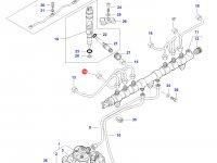 Топливная трубка двигателя Sisu Diesel трактор Challenger — 837073575