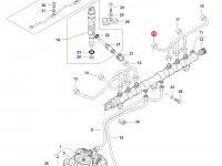 Топливная трубка двигателя трактора Challenger — 837073577