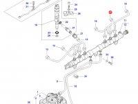 Топливная трубка двигателя трактора Challenger — 837073578