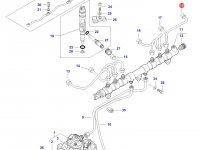 Топливная трубка двигателя трактора Challenger — 837073579
