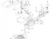 Топливная рампа двигателя Sisu Diesel трактор Challenger — 837073584