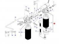 Топливоподкачивающий насос двигателя Sisu Diesel трактор Challenger — 837073630