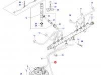 Топливная трубка двигателя Sisu Diesel трактор Challenger — 837073702