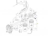 Топливоподкачивающий насос двигателя трактора Massey Ferguson — 837073963