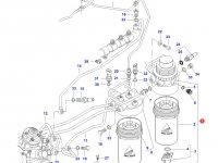 Топливоподкачивающий насос двигателя Sisu Diesel трактор Challenger — 837073963