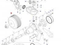 Шкив водяного насоса двигателя трактора Challenger — 837074027