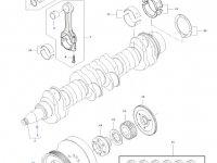 Поршень двигателя трактора Massey Ferguson — 837074081