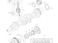 Поршень двигателя трактора Massey Ferguson — 837074082