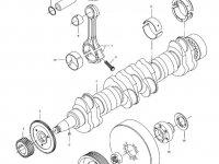 Поршень двигателя трактора Challenger — 837074083