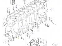 Форсунку охлаждения поршня двигателя трактора Challenger — 837074224
