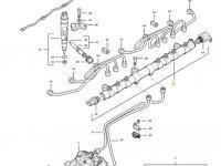 Топливная рампа двигателя трактора Challenger — 837074653
