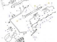 Топливная рампа двигателя трактора Challenger — 837074665