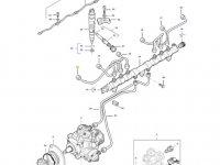 Топливная трубка первого цилиндра двигателя трактора Massey Ferguson — 837074668