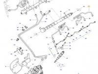 Топливная трубка двигателя трактора Challenger — 837074668