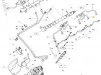 Топливная трубка двигателя трактора Challenger — 837074669