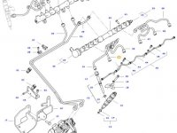 Топливная трубка двигателя трактора Challenger — 837074672