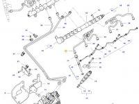Топливная трубка двигателя трактора Challenger — 837074673