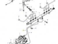 Топливная трубка двигателя трактора Challenger — 837074676
