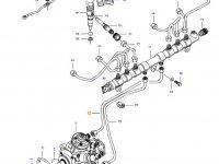 Топливная трубка двигателя трактора Challenger — 837074678