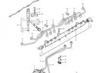 Топливная трубка двигателя трактора Challenger — 837074681