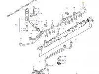 Топливная трубка двигателя трактора Challenger — 837074683