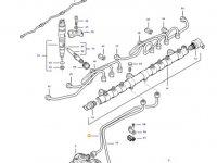 Топливная трубка двигателя трактора Challenger — 837074685
