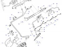 Топливная рампа двигателя трактора Challenger — 837074768
