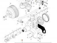 Ремкомплект водяного насоса трактора Challenger — 837079108