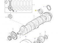 Вкладыши коренные двигателя трактора Challenger — 837079248