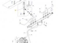 Форсунка двигателя трактора Massey Ferguson — 837079432