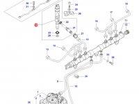 Форсунка двигателя Sisu Diesel трактор Challenger — 837079432