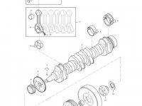 Комплект поршневых колец двигателя трактора Massey Ferguson — 837079459