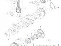 Комплект поршневых колец двигателя Sisu Diesel на трактор Challenger — 837079460