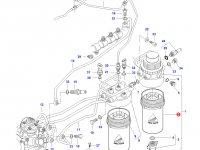 Топливный фильтр сепаратор трактора Challenger — 837079555
