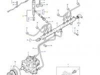 Форсунка двигателя трактора Massey Ferguson — 837079827