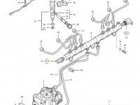 Датчик давления топлива в рампе двигателя трактора Challenger — 837079833