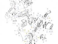 Турбокомпрессор двигателя трактора Challenger — 837079845