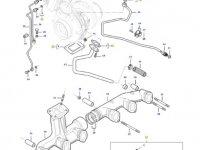 Турбокомпрессор двигателя трактора Massey Ferguson — 837079922