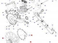 Охлаждающий(водяной) насос двигателя трактора Challenger — 837079934