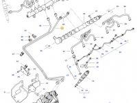 Топливная трубка двигателя трактора Challenger — 837081611