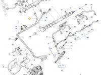 Топливная трубка двигателя трактора Challenger — 837081612