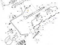 Топливная трубка двигателя трактора Challenger — 837081613