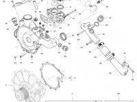 Термостат двигателя трактора Challenger — 837081703