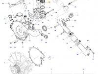 Термостат двигателя трактора Challenger — 837081716