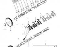 Коромысло(рокер) клапана двигателя трактора Challenger — 837081758