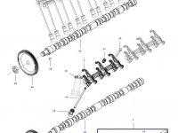 Коромысло(рокер) клапана двигателя трактора Challenger — 837081760