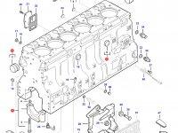 Блок двигателя Sisu Diesel трактор Challenger — 837084169