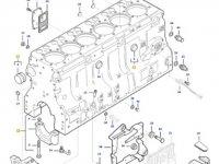 Блок двигателя трактора Massey Ferguson — 837084169