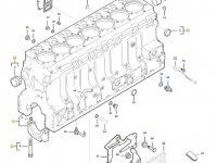 Блок двигателя трактора Challenger — 837084173