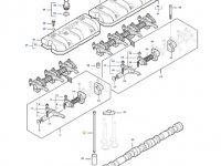Штанга толкателя клапана двигателя трактора Massey Ferguson — 837084416